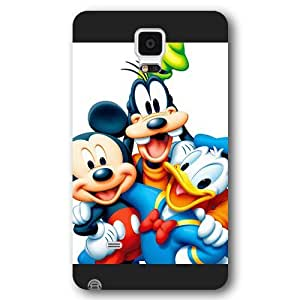 Customized Black Frosted Disney A Goofy Movie Samsung Galaxy Note 4 Case