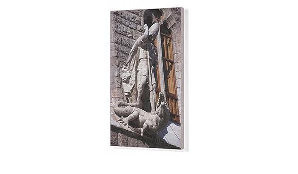 Recta para cuadros en lienzo de Gaudí i, Antoni (1852-1926). Casa Botines: Amazon.es: Hogar