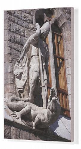 Recta para cuadros en lienzo de Gaudí i, Antoni (1852-1926).