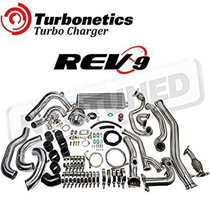 Amazon.com: TURBONETICS T3 60-1 BOLT ON TURBO CHARGER Rev9 KIT FOR 350Z 2003-2006 VQ35 Z33 G35 3.5L (Fits: 350Z & G35): Automotive
