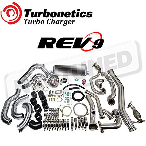 TURBONETICS T3 60-1 BOLT ON TURBO CHARGER Rev9 KIT FOR 350Z 2003-2006 VQ35 Z33 G35 3.5L (Fits: 350Z & G35) (Turbonetics Wastegate)