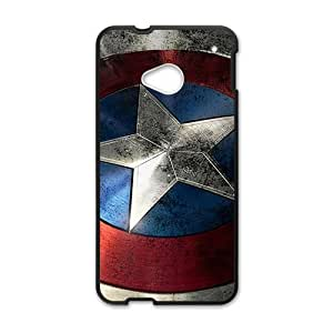 captain america's shield Phone Case for HTC One M7