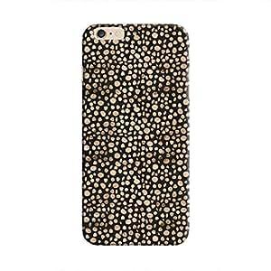 Cover It Up - Brown Black Pebbles Mosaic iPhone 6 Plus / 6s Plus Hard Case
