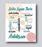 Sorority Gifts, Sorority Little Gifts, Sorority Big Little, 8x10 or 11x14 Print Only, AKA Sorority Gifts For Women