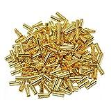 Paddsun 40 Pairs 3.5mm Gold Banana Plug Bullet Connector Plug Male & Female for RC Battery ESC Motor
