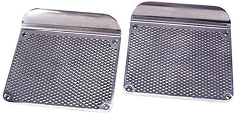 Polished Aluminum Diamond Style Step Plates