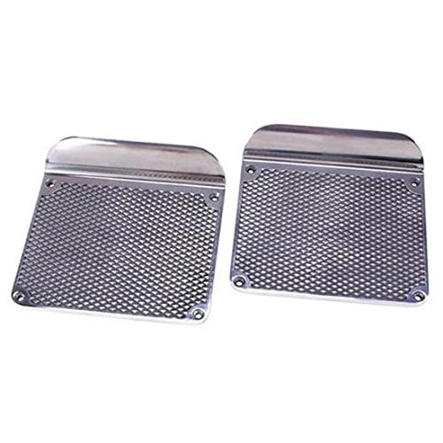 Diamond Plate Side Step - Diamond Style Step Plates, Polished Aluminum