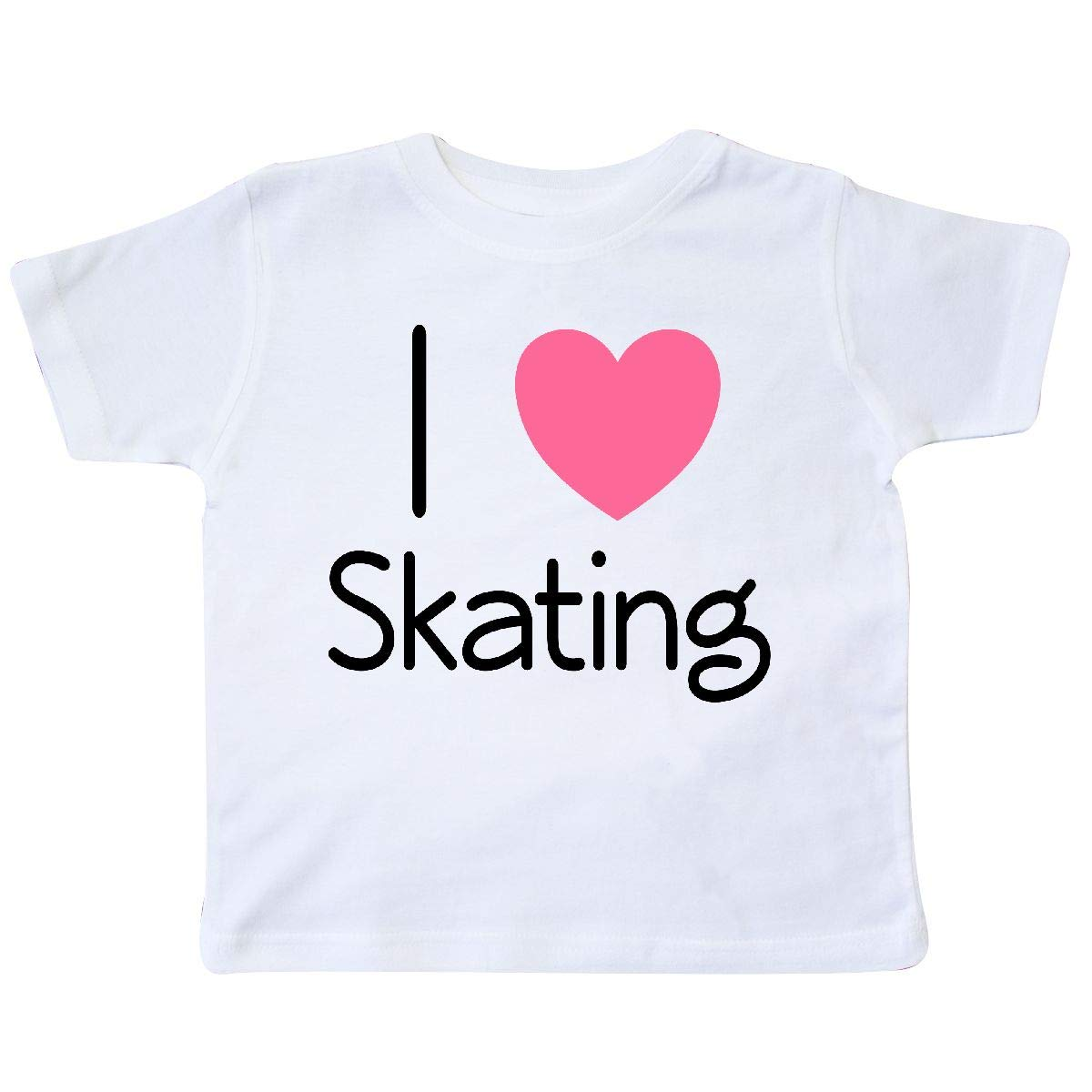 inktastic Roller Skate I Love Skating Toddler T-Shirt