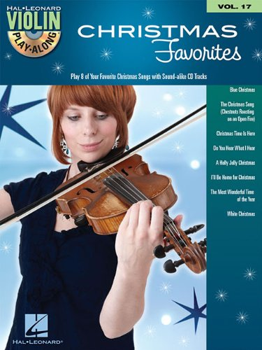 Christmas Favorites: Violin Play-Along Volume 17