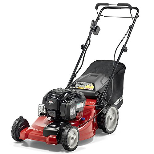 Wheel Push High Mower (Jonsered 21 in. 163cc Briggs & Stratton Gas Walk Behind Lawnmower, L2621)