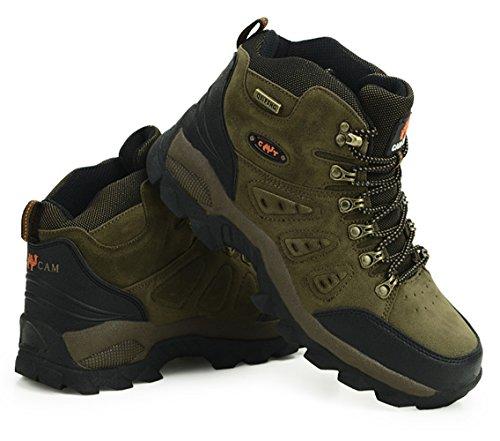 SK Studio Women's Sport Waterproof Hiking Boots Dark Green(Men) 27fEljSe