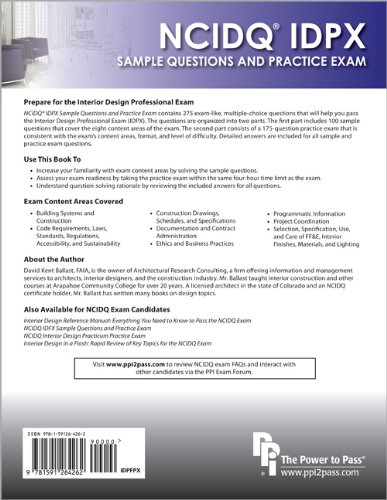 NCIDQ® IDPX: Sample Questions and Practice Exam