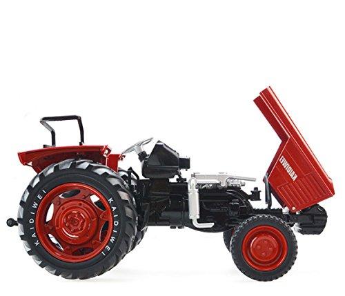 合金トラクター農業モデル子供おもちゃモデルレッド
