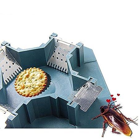 Hrph Las cucarachas segura eficiente Anti Trampa Killer Plus grande del reflector No contamine No eléctrico Sin Veneno: Amazon.es: Hogar