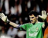 Iker Casillas Hand Signed Autographed Jumbo 11x14 Photo Real Madrid GA 728407