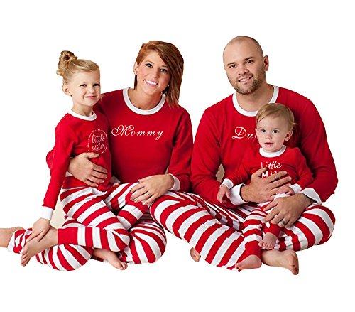 Pijamas de Navidad Familia Pijamas Navideñas Adultos Pijama ...
