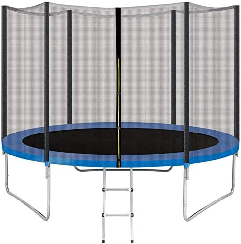 QCen Trampoline With An Enclosure Net - The Best or The Money
