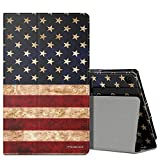 MoKo Case for Fire HD 8 2016 Tablet - Slim Folding Stand Cover with Auto Wake/Sleep for Amazon Fire HD 8 (Previous 6th Gen-2016 Release ONLY), US Flag (NOT FIT the Latest 7th Gen 2017 Tablet)