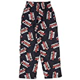 Fun Boxers Mens Food Fun Prints Pajama & Lounge Pants, Powered By Bacon, Large