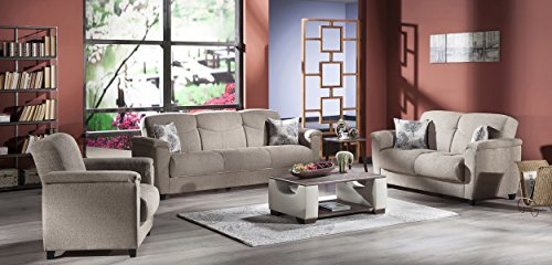ASPEN SOFA-LOVE-CHAIR FOREST BROWN, FREE CURBSIDE DELIVERY IN CONTINENTAL US