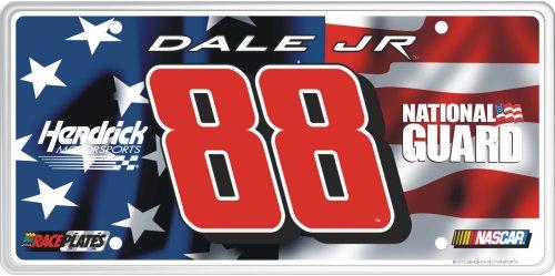 - Sponsor Series #88 Dale Earnhardt Jr. National Guard (A) License Plate