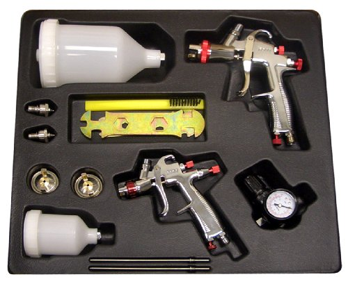 SPRAYIT SP-33500K LVLP Gravity Feed Spray Gun Kit ()