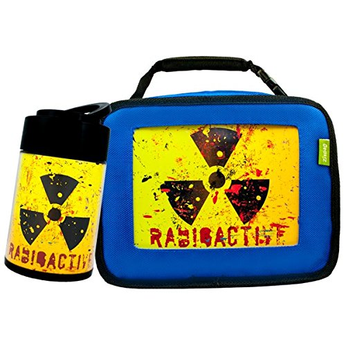 Drop and Twist Radioactive with Lunch Box, - Blue Radioactive