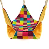 Alfie Pet by Petoga Couture - Kasey Triangular Hammock for Mouse, Chinchilla, Rat, Gerbil and Dwarf Hamster - Color: Orange