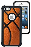 CorpCase iPhone 5 Case / iPhone 5S Case / iPhone SE Case - Basketball/ Hybrid Unique Case With Great Protection
