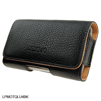 Samsung Blackjack Phone Covers (Horizontal Leather Pouch For Brand Samsung BlackJack i607 or BlackJack 2 i617 Cell Phone Case Cover with Belt Clip Magnetic Closing)