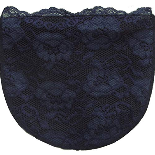 Chemisettes by Anne Poly and Lace Cleavage Cover Modesty Panel Cami Navy Size A