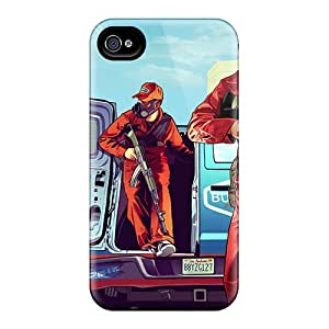 Hot OWc64189dJzH Cases Covers Protector For Iphone 5/5s- Grand Theft Auto Gta V