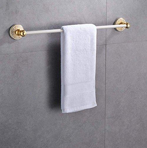 (L.I. Americana Spazio Bianco in Alluminio Portasciugamani Mensola Bar dell'Asciugamano Di Alta qualit&Worst; Organiser Bathroom Storage Accessories of Bathroom Shelves Shelves Wall Bracket)