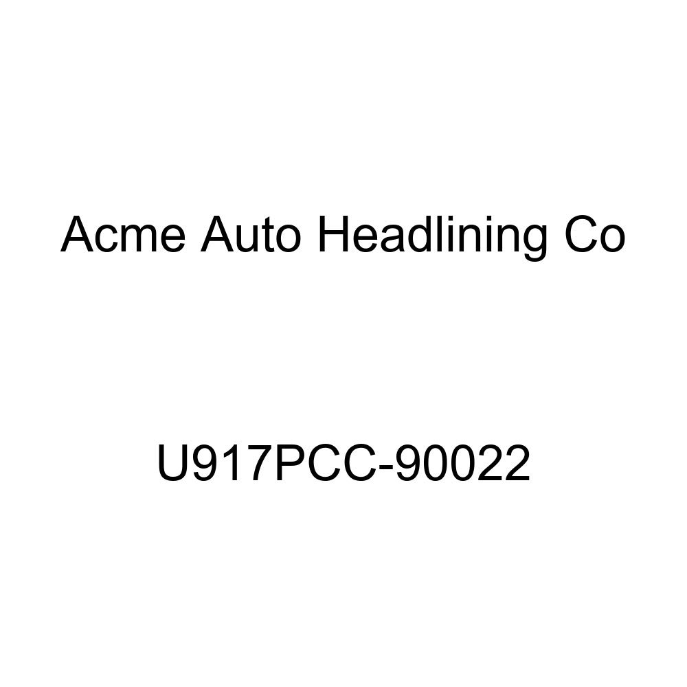 Acme U917PCC-90022 Front and Rear Palomino Vinyl Bench Seat Upholstery