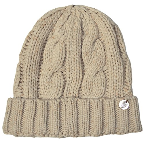 Guinness Cable And Rib Knit Hat, Natural Colour ()