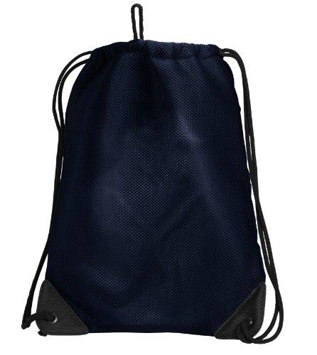 Broad Bay University of Mississippi Drawstring Backpack Ole Miss Cinch Bag - UNIQUE MESH & MICROFIBER by Broad Bay (Image #2)