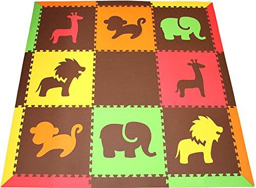 Softtiles Children S Foam Playmat Safari Animals Theme