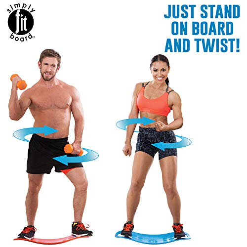 Simply Fit Board - The Workout Balance Board with a Twist, As Seen on TV