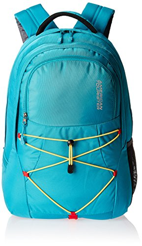 American Tourister Turquoise Blue Casual Backpack (ZAP 2016)