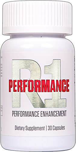 R1 PERFORMANCE Male Enhancing Pills – Enlargement Booster for Men – Increase Size, Strength, Stamina – Energy, Mood, Endurance Boost – All Natural Performance Supplement – 30 Capsules Manufactured USA