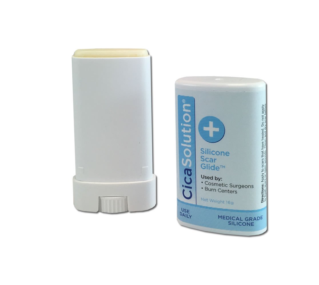 CicaSolution Scar Reducing Treatment for scars and wounds (Large 75g and 16g Travel size) by CicaSolution (Image #4)