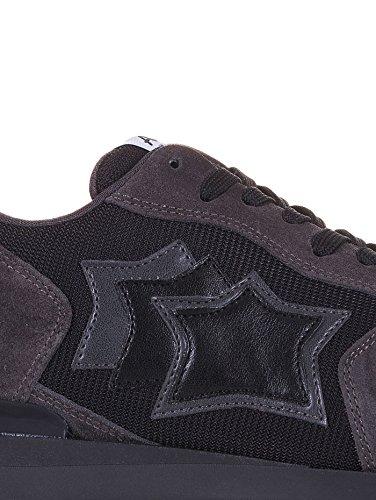 ATLANTIC STARS uomo sneakers basse ANTAR ANA 72N taglia 46 Grigio-nero