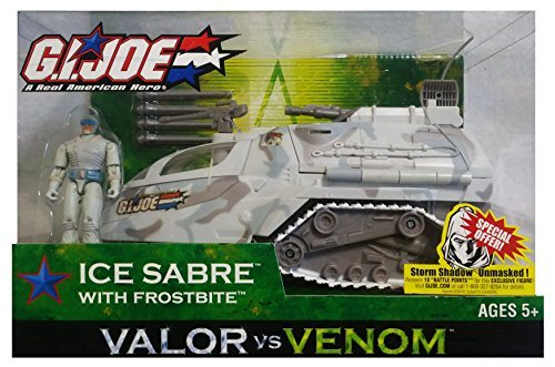G. I. Joe Valor vs. Venom Ice Sabre with Frostbite Action Figure (Frostbite Ice)
