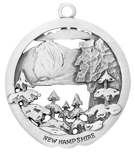 Remember New Hampshire Ornament made in New England