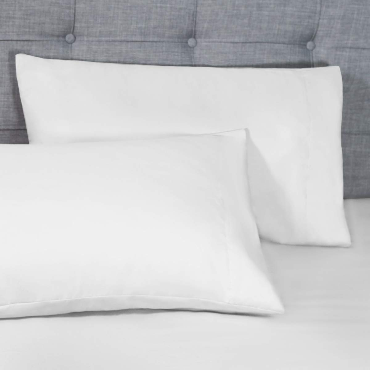 HomeIdeas - Juego de sábanas de 4 piezas (completo, dorado) 1 sábana encimera, 1 sábana bajera ajustable y 2 fundas de almohada, 100 % microfibra cepillada ...