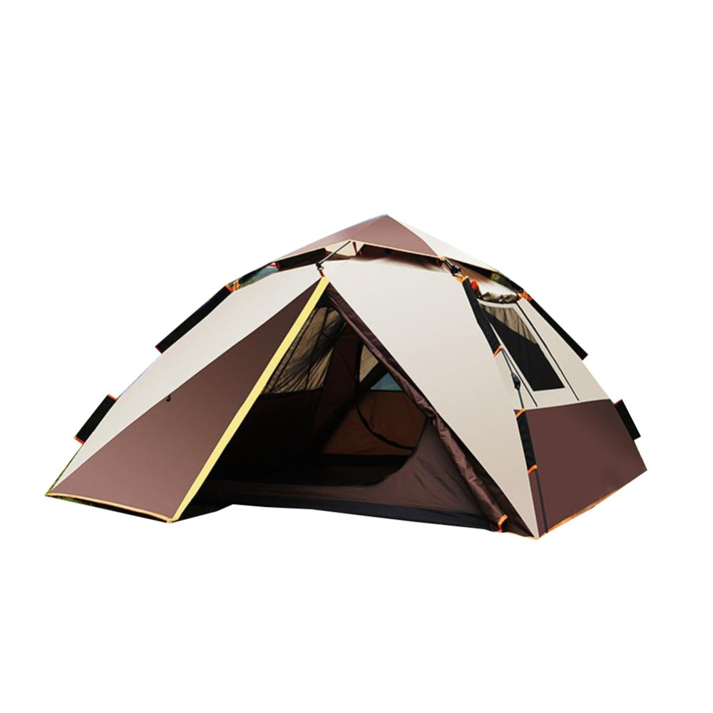 VATHJ Campingzelt zu Hause 3-4 Personen UV-Schutz Wasserdicht Tragbare Instant-Zelt