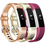 Maledan For Fitbit Alta/Alta HR and Fitbit Ace Bands, Replacement Accessories Wristbands for Fitbit Alta HR/Alta/Ace, Small Large Women Men Kids