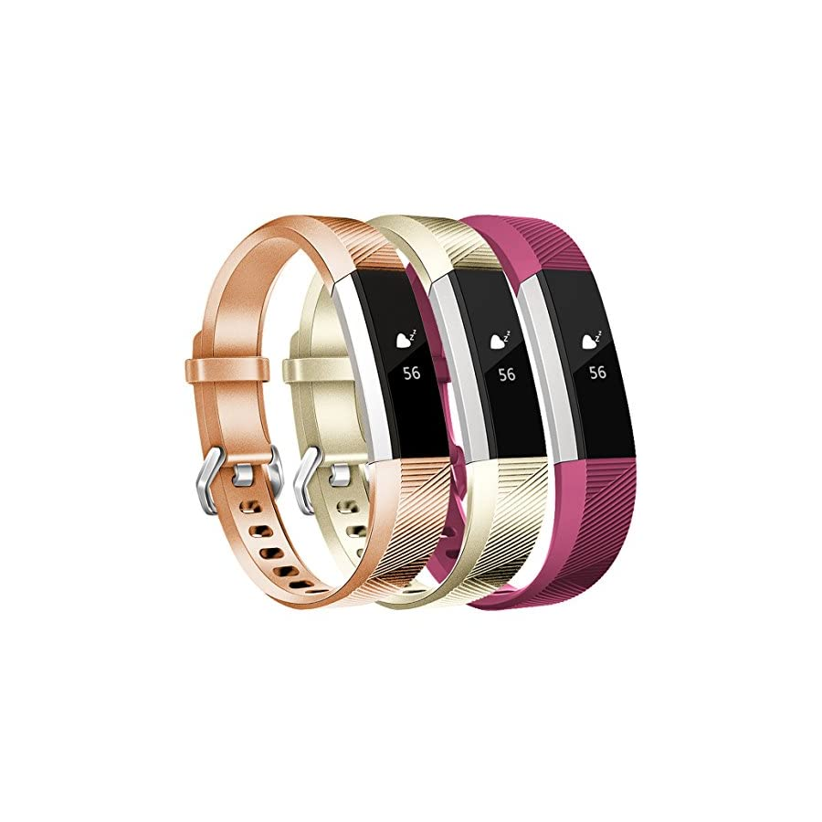 Maledan Replacement Bands for Fitbit Alta/Alta HR and Fitbit Ace, Women Men Kids Small Large