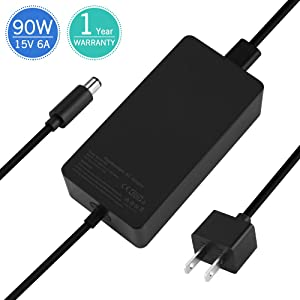 Surface Dock Charger15V 6A 90W Ac Adapter Power Supply Battery Charger for Microsoft Docking Station Surface Pro 4 Surface Book 1661 1749 TG-TECH