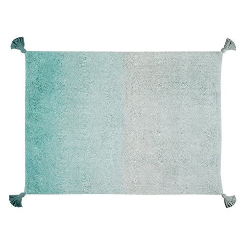 Lorena Canals Degrade 120x160 Cm, Emerald Green, 4' x 5' 3'' by Lorena Canals